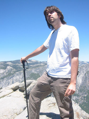 That's me, at Yosemite National Park. Looking very young, eep...