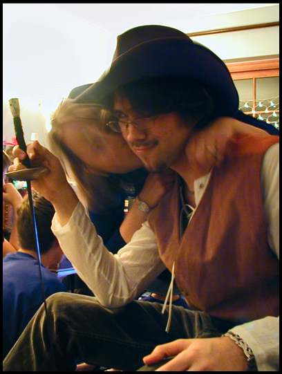 A younger Seb as Will Turner