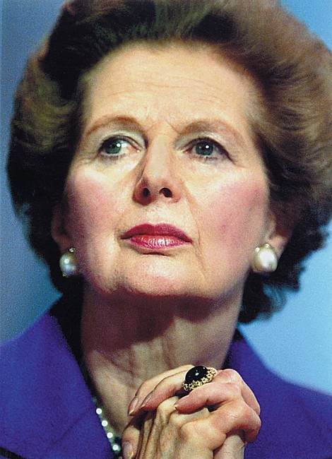 Margaret Thatcher, the image I see every time I shut my eyes during sex...