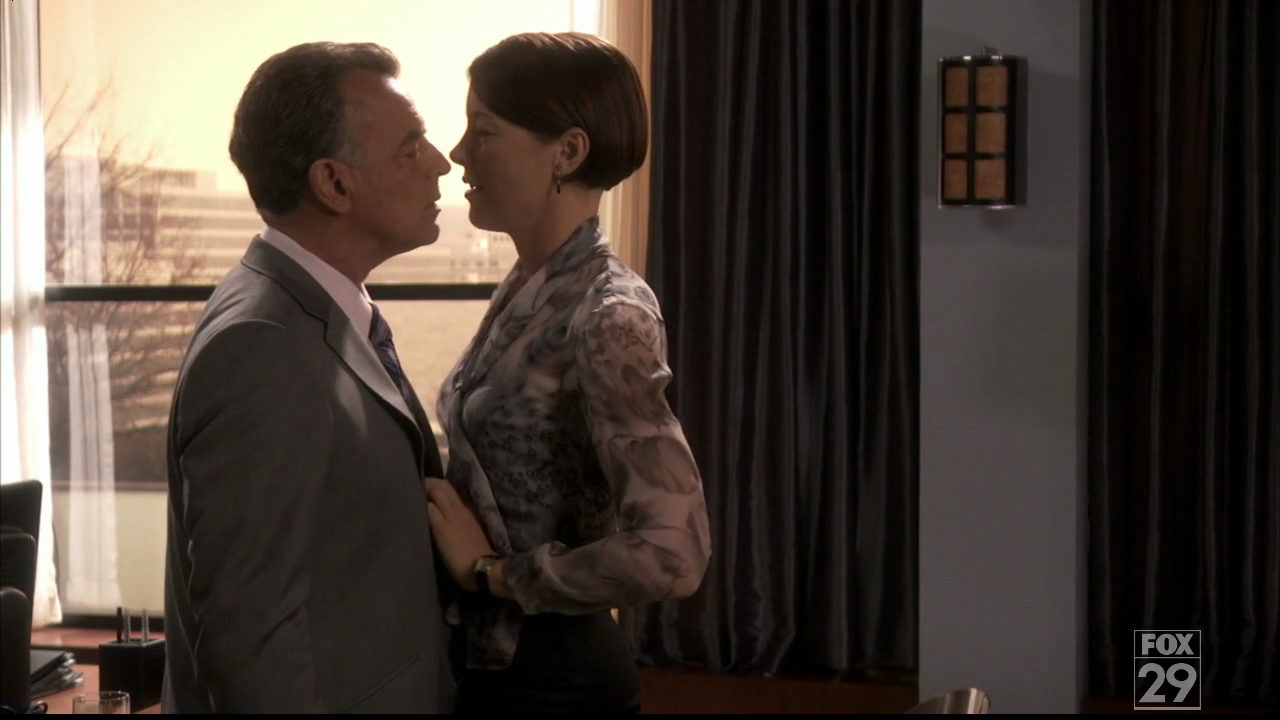 ray wise olivia williams dewitt ball breaker dollhouse season 2 Olivia Williams nude in The Postman