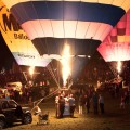 Bristol International Balloon Fiesta, night glow