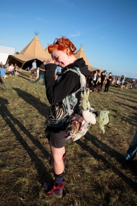Redhead and Yoda, End of the Road festival